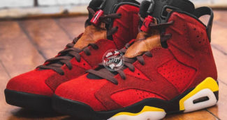 "Custom Air Jordan 6 ""Ferrari Denim"" Has the Need for Speed"