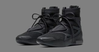 """Nike Air Fear of God 1 """"Triple Black"""" AR4737-005"""