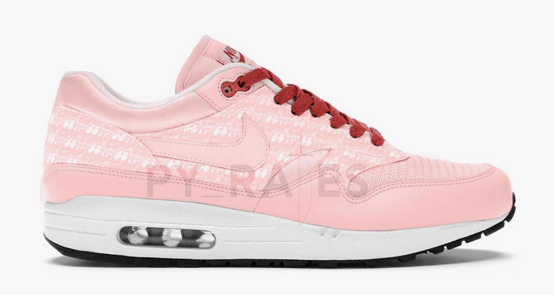 "Nike Air Max 1 Powerwall ""Pink Lemonade"" Release Date | Nice Kicks"