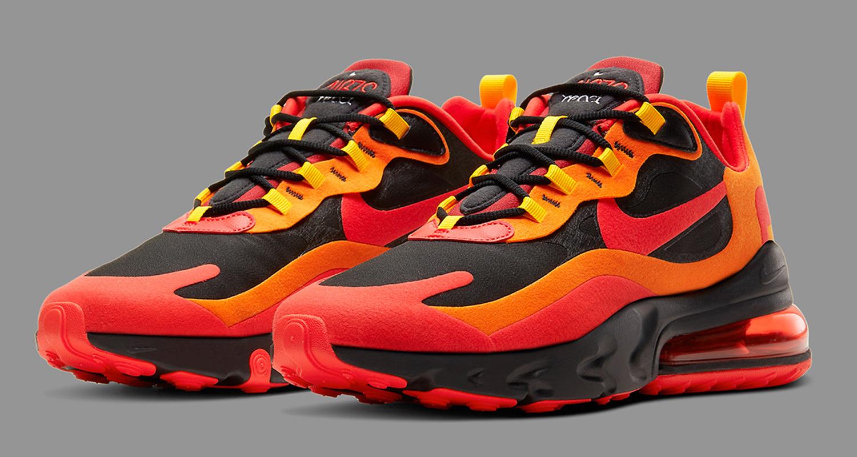 Nike Air Max 270 React Magma Cz9267 001 Release Date Nice Kicks