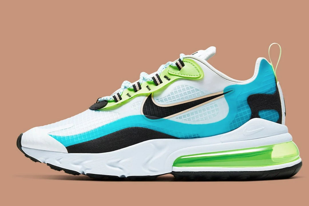 Nike Air Max 270 React Se Oracle Aqua Ct1265 300 Release Date