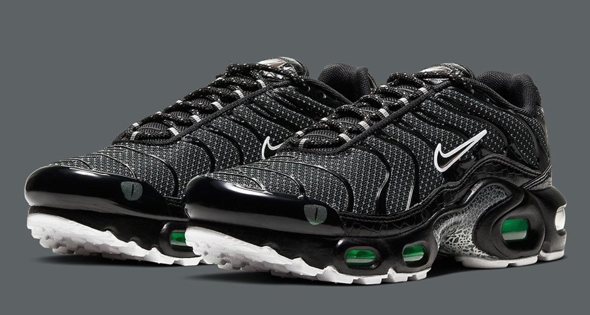 Nike Air Max Plus Croc Skin Cv2392 001 Release Date Nice Kicks