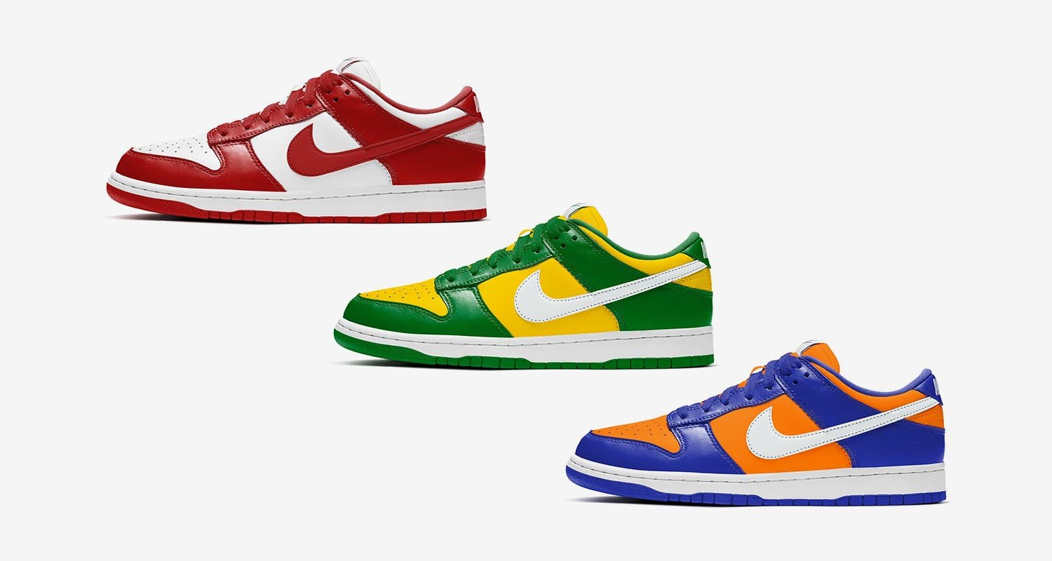 Nike Dunk Low SP Collection Summer 2020