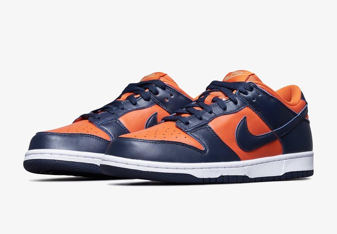 nike dunk orange