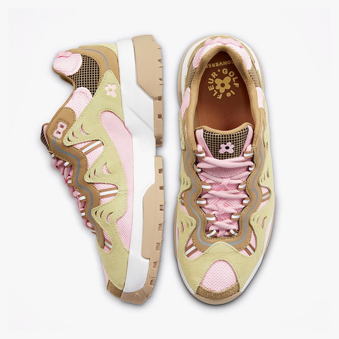 Tyler the Creator x GOLF le FLEUR* x Converse Gianno Parfait Pink/French Vanilla 168179C