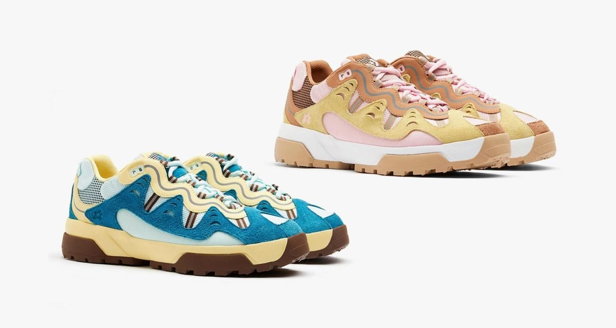 Tyler the Creator x Golf Le Fleur Gianno Skylight/French Vanilla/Bison 168180C - Parfait Pink/French Vanilla 168179C