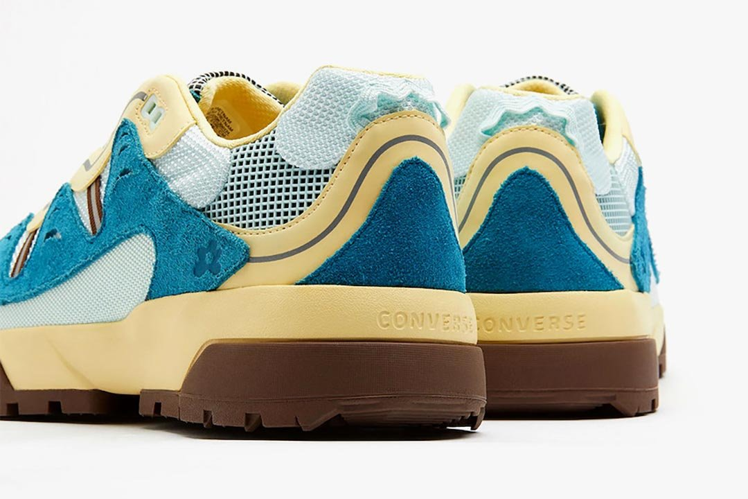 Tyler the Creator x GOLF le FLEUR* x Converse Gianno Skylight/French Vanilla/Bison 168180C