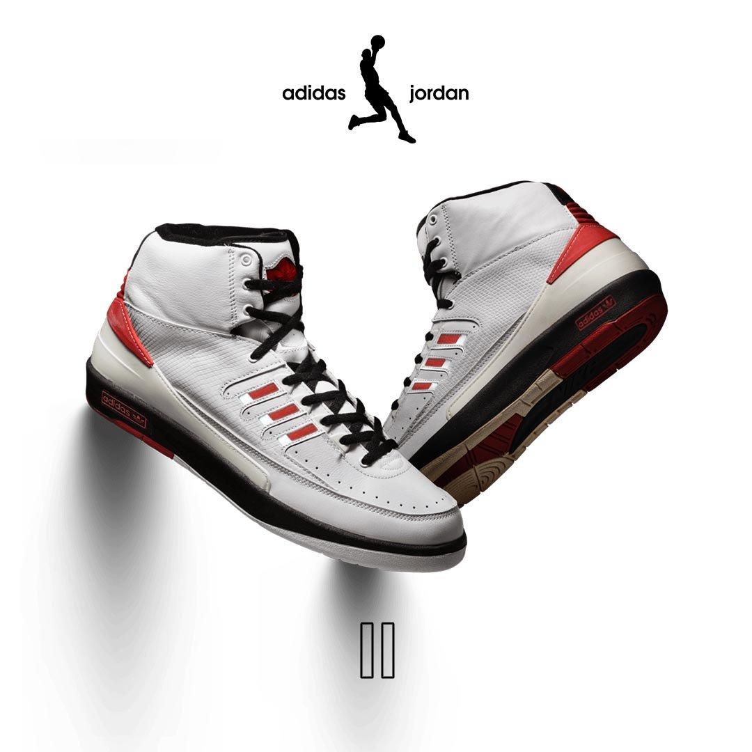This adidas Jordan Line Reimagines