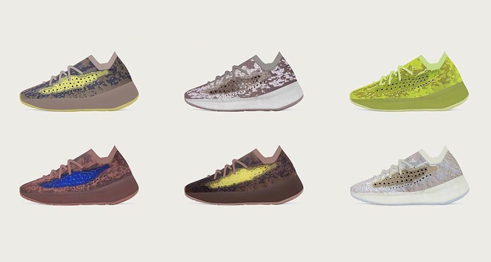 Upcoming adidas Yeezy Boost 380