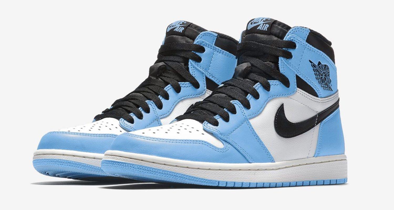 Air Jordan 1 High Og Universiy Blue 555088 134 Release Date