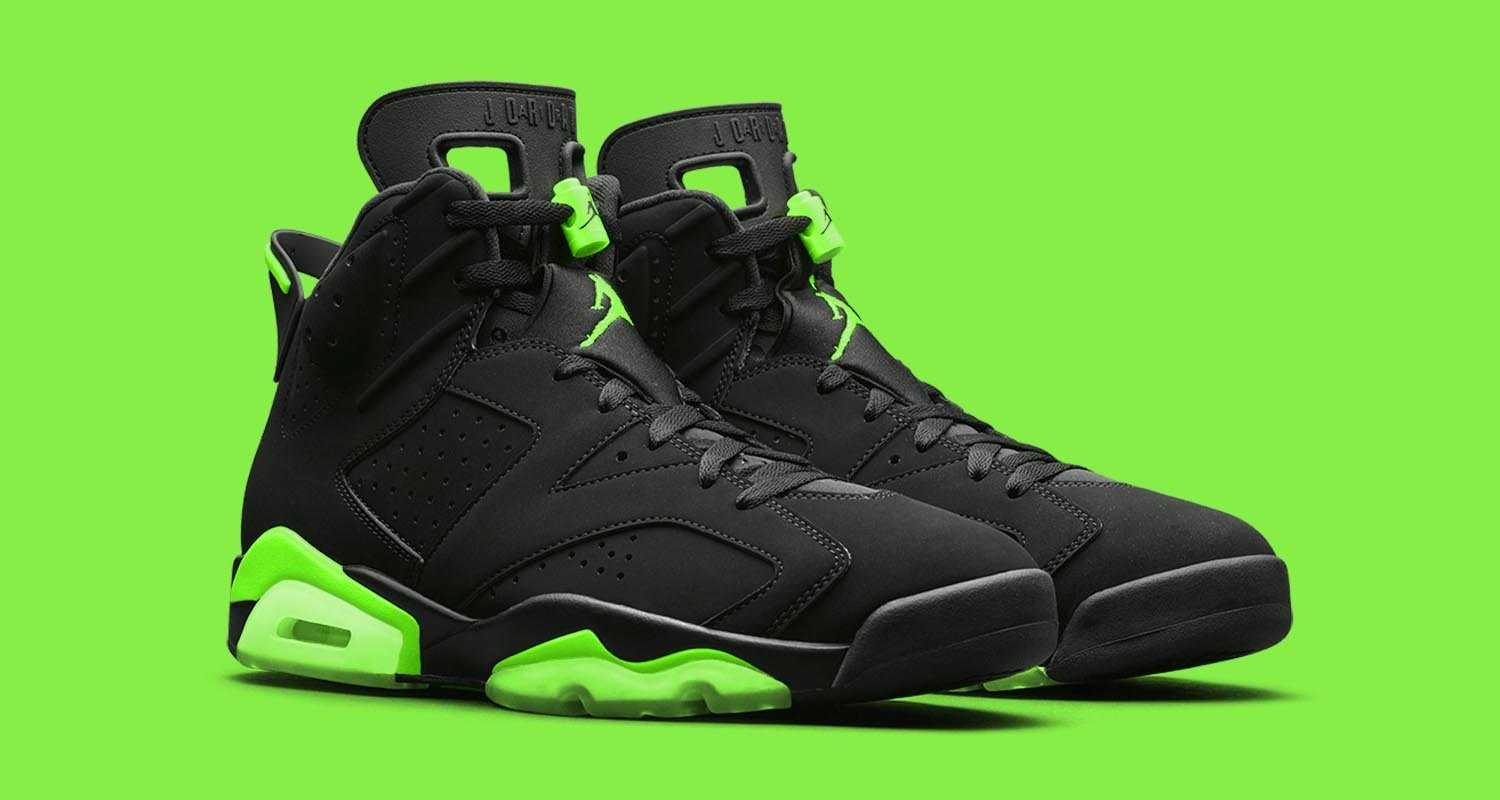 "Air Jordan 6 Retro ""Electric Green"" CT8529-003"