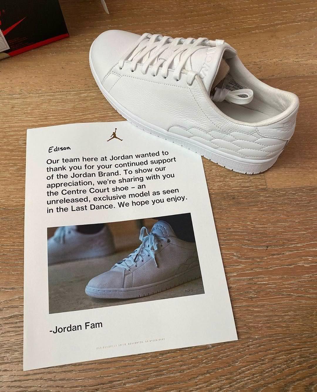 "A Closer Look at the Unreleased Jordan Model from ""The Last Dance"" | Nice  Kicks"