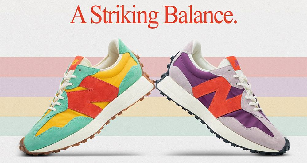 size? x New Balance 327 Release Date