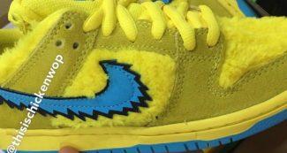 Grateful Dead x Nike SB Dunk Low Appears in Yellow