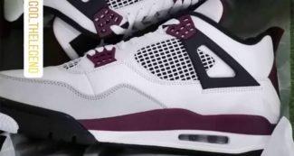 First Look // PSG x Air Jordan 4