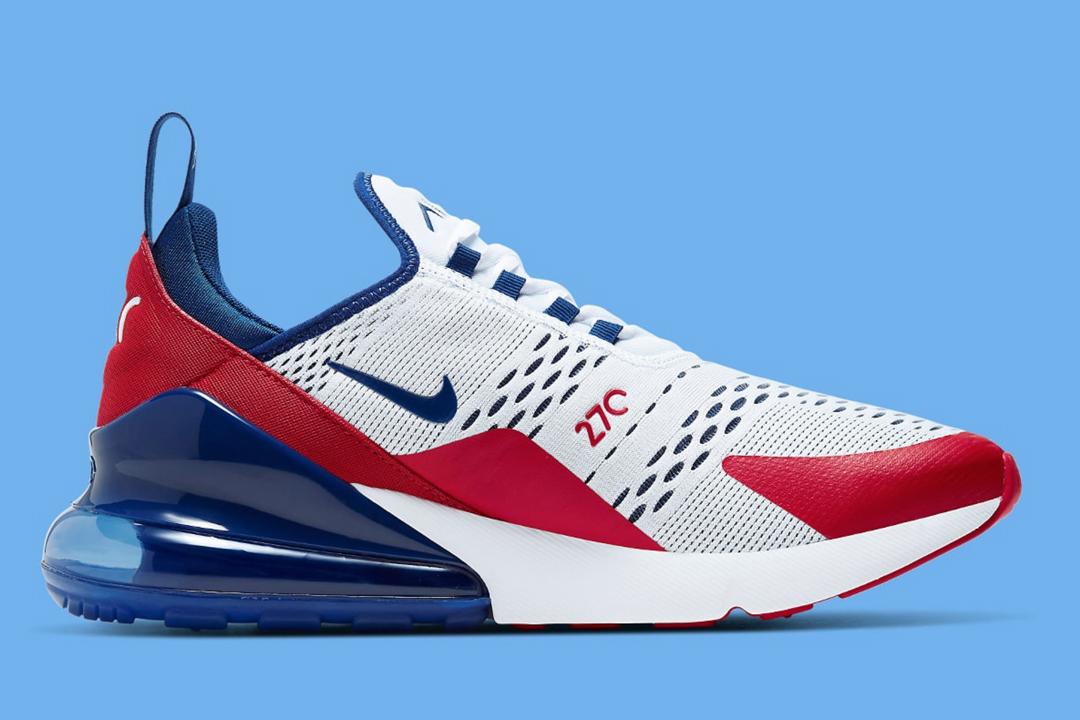 """Nike Air Max 270 """"USA"""" CW5581-100"""