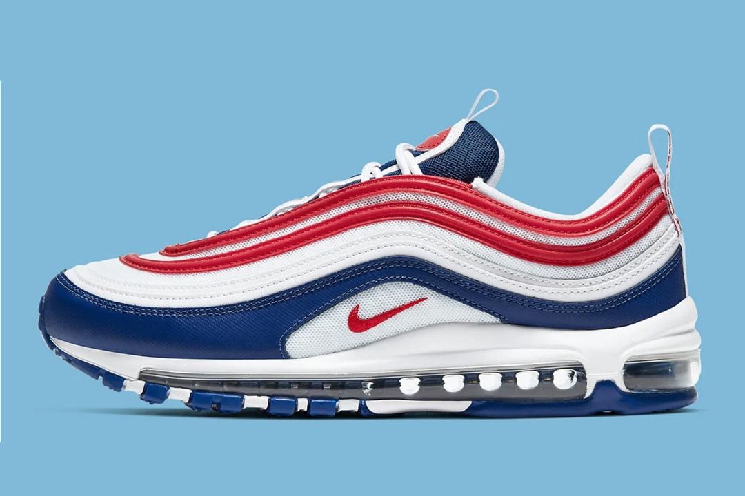 """Nike Air Max 97 """"USA"""" CW5584-100"""