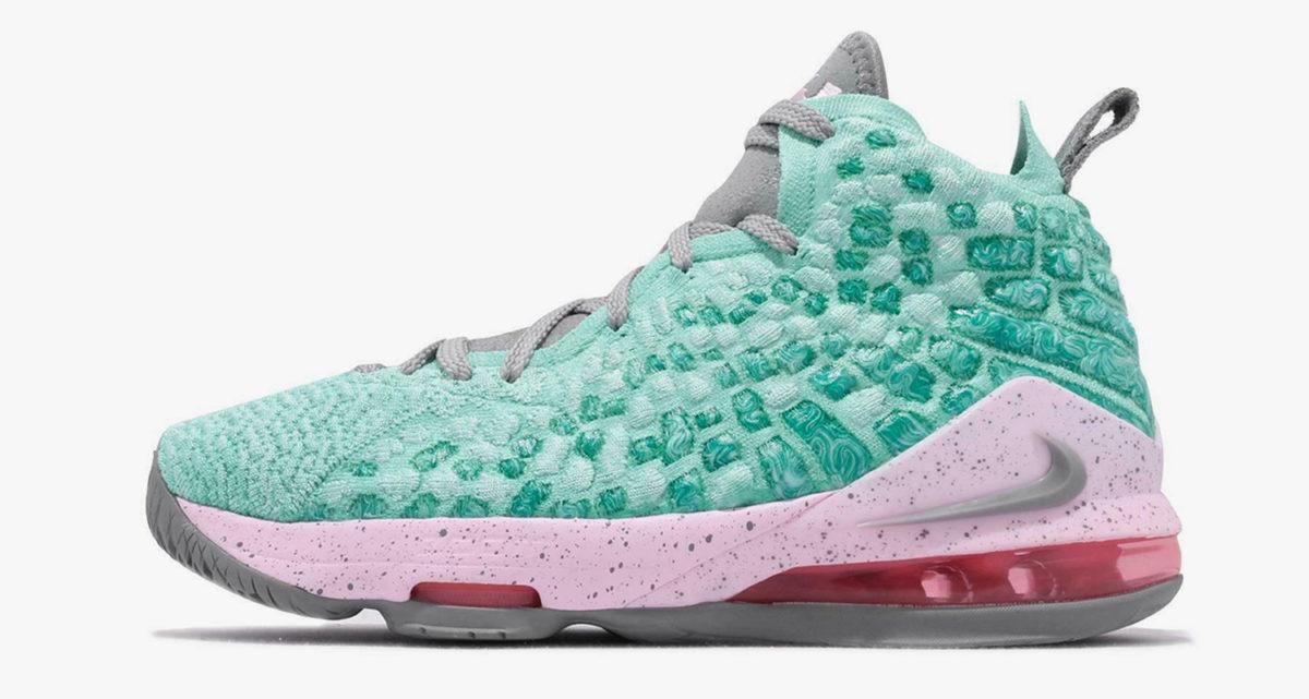 """Nike LeBron 17 GS """"South Beach"""" BQ5594"""