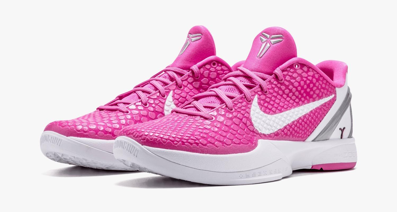 "Nike Zoom Kobe 6 ""Think Pink"" CW2190-600"