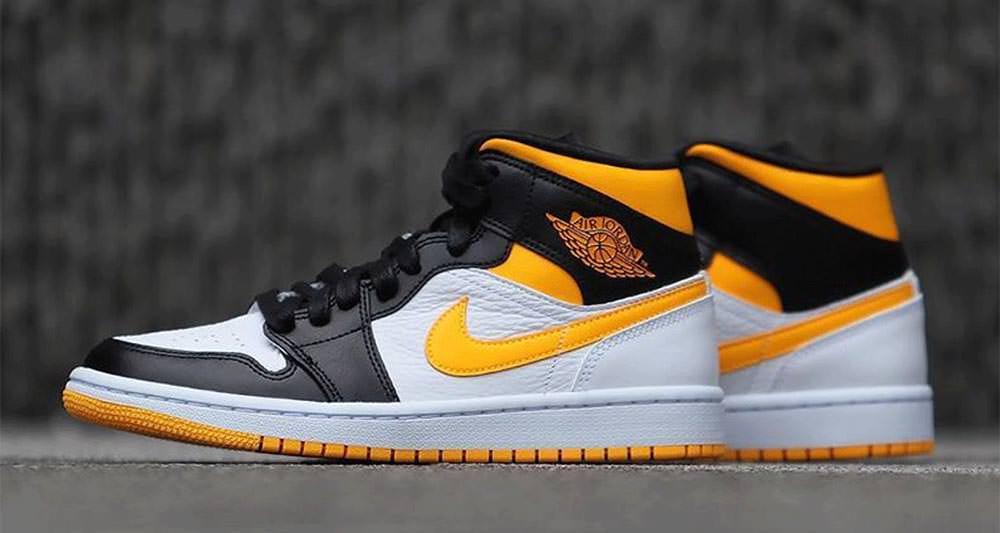 adoptar difícil alumno  Air Jordan 1 Mid Varsity Yellow Release Date | Nice Kicks