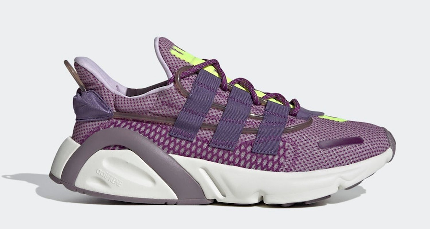 "The adidas LXCON Gets Outfitted in ""Purple Tint"""