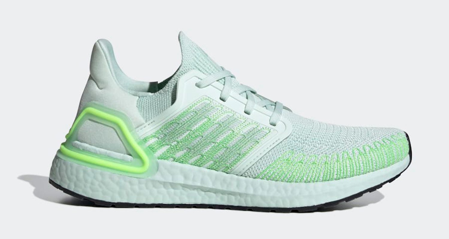 "adidas UltraBoost 2020 Gets a Groovy ""Green Tint"" Makeover for Summer"