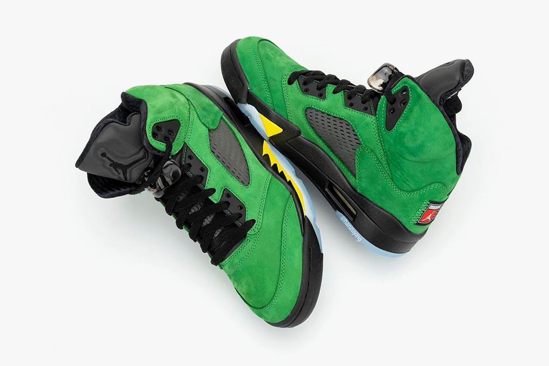 air-jordan-5-retro-oregon-ducks-apple-green-black-yellow-strike-CK6631-307-release-date