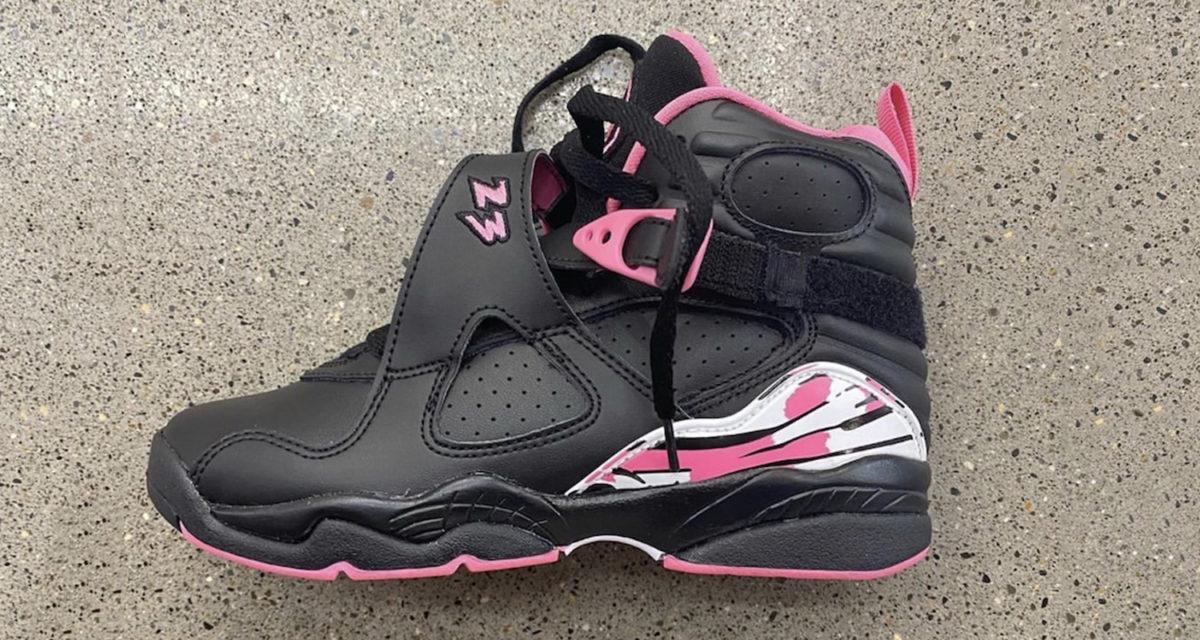 """Air Jordan 8 GS """"Pinksicle"""" 580528-006"""