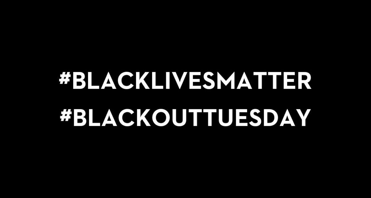 black lives matter blackout tuesday