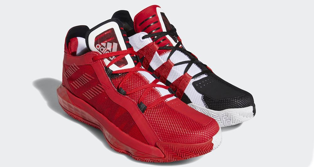 Adidas Dame 6 Black Red White Fy0850 Release Date Nice Kicks