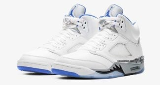 "The Air Jordan 5 Retro ""Hyper Royal"" is Rumored to Release in 2021"