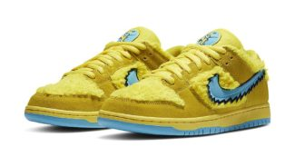 "The Grateful Dead Bears x Nike SB Dunk Low ""Yellow"" is Releasing on SNKRS and Skate Shops"