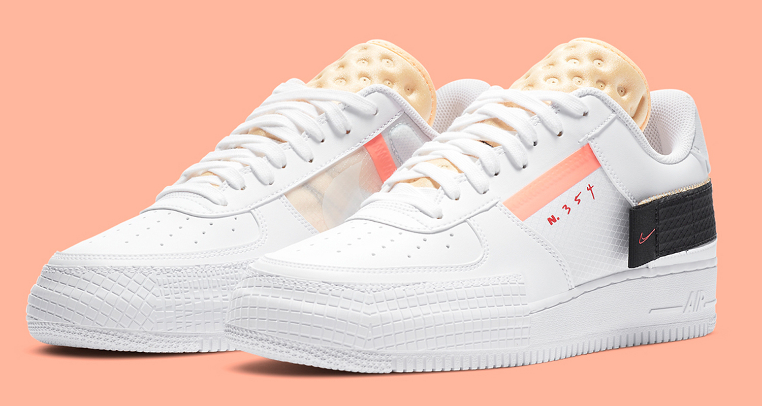 """Nike AF1-TYPE """"Melon Tint"""" Is the Perfect Summer Treat"""