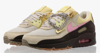 The Nike Air Max 90 Gets Accessorized with a Cuban Link Chain