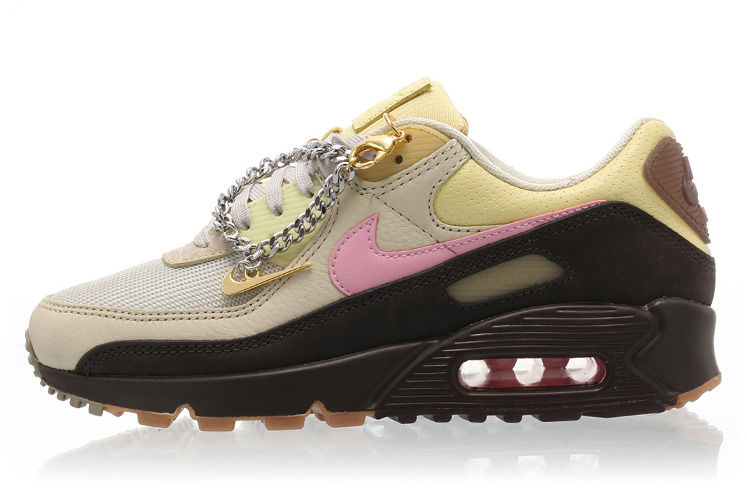 "Nike Air Max 90 WMNS ""Cuban Link"" CZ0469-200 Release Date | Nice Kicks"