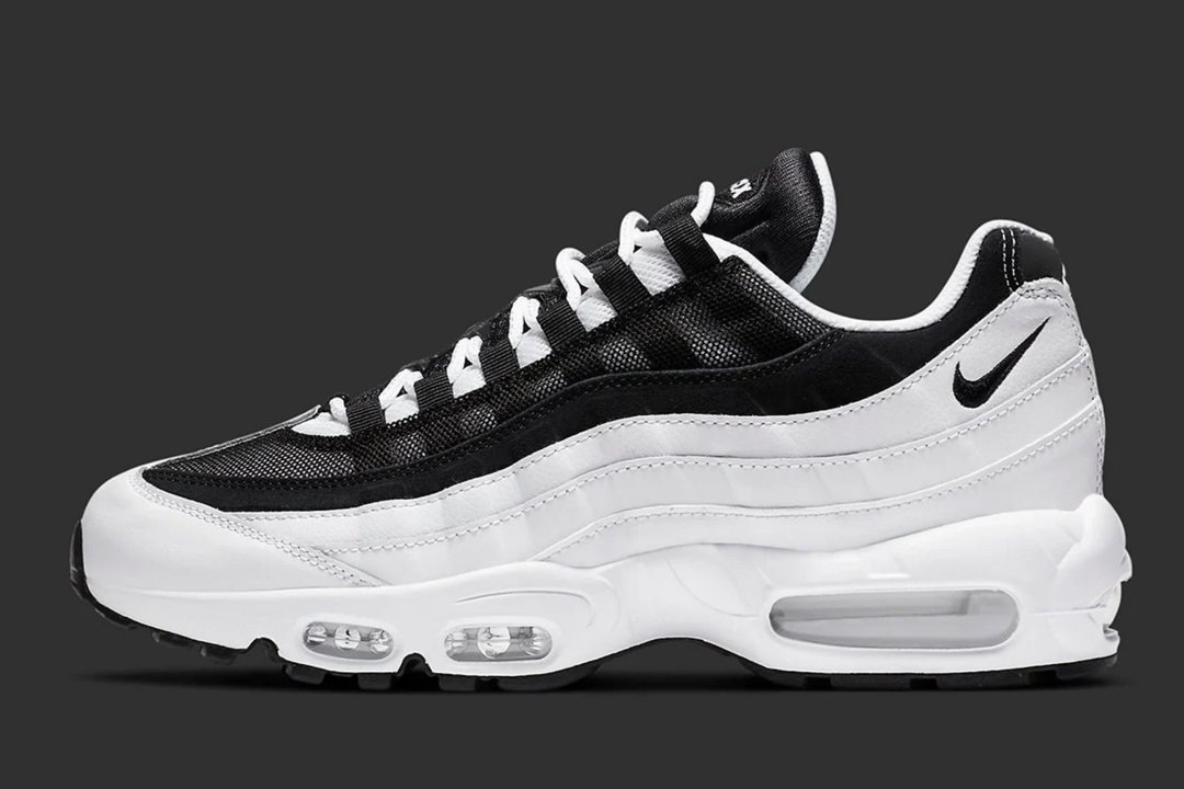 Nike Air Max 95 Black And White Pack Ck6884 100 Ck6884 001