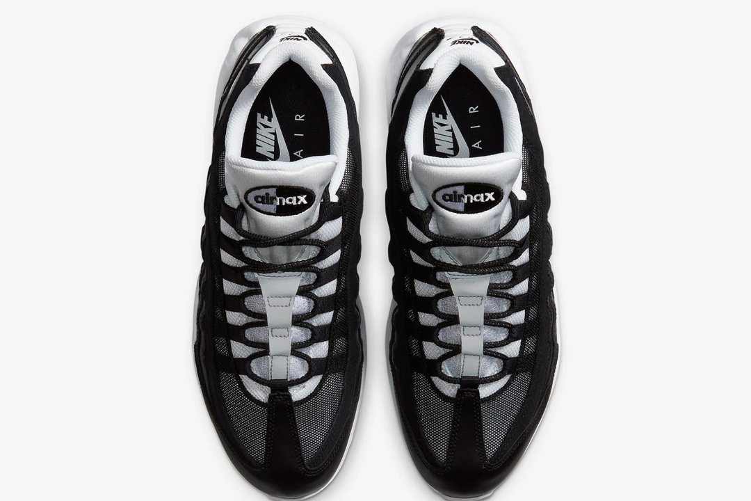 nike air max 95 black and white
