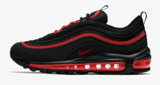 Nike Air Max 97 Gets a Stealthy Black & Red Makeover