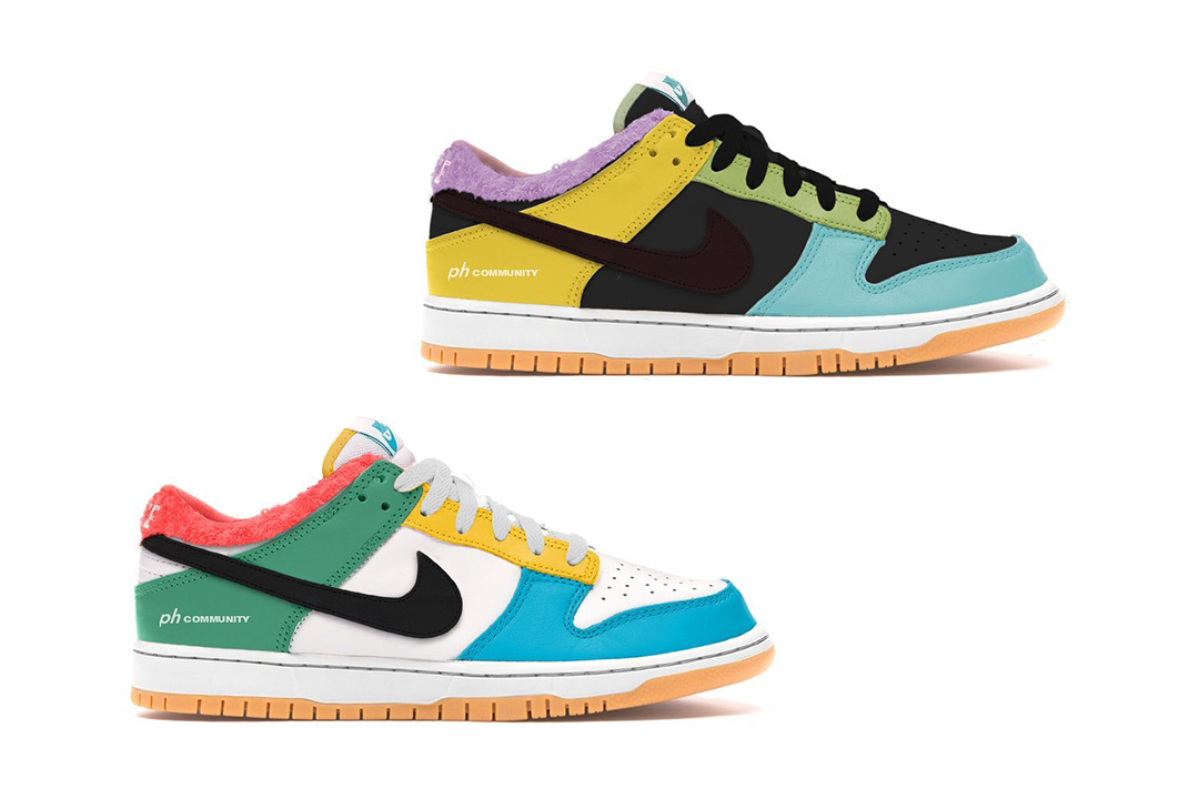 nike-dunk-low-se-free-99-black-dark-chocolate-copa-pink-foam-DH0952-001-white-light-chocolate-roma-green-DH0952-100