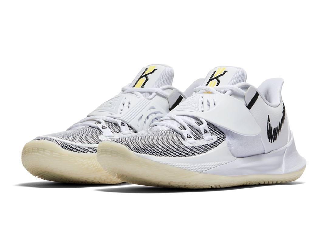 Nike Kyrie 3 Low White/Black Release
