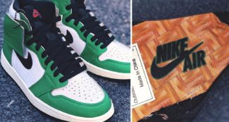 "First Look // WMNS Air Jordan 1 ""Lucky Green"""