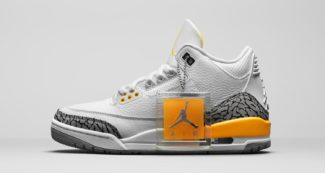 "Official Look // WMNS Air Jordan 3 Retro ""Laser Orange"""