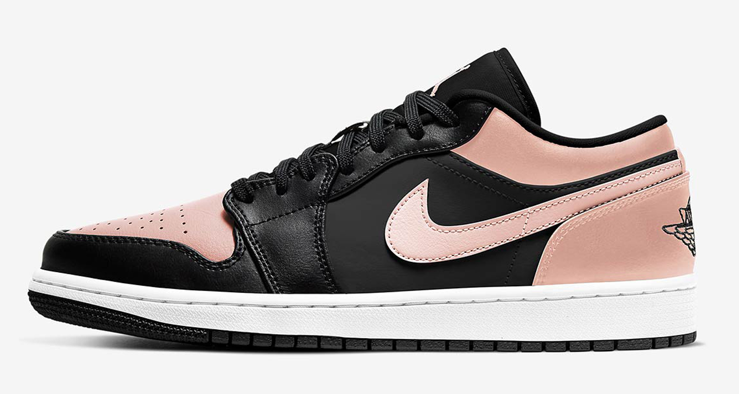 "First Look // Air Jordan 1 Low ""Crimson Tint"""