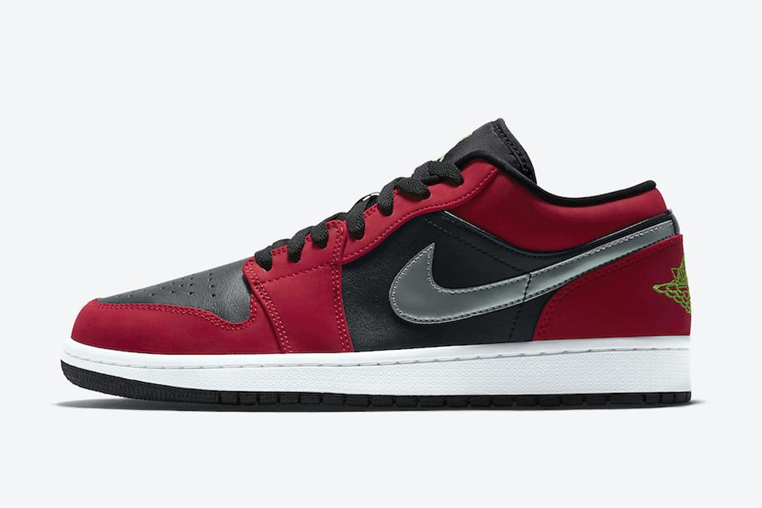 Air Jordan 1 Low Gym Red 553558 036 Release Date Nice Kicks