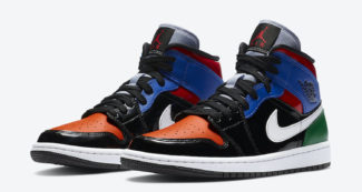 """Multi Patent"" Overlays Dress the Air Jordan 1 Mid"
