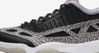 "Where to Buy Air Jordan 11 Low IE ""Black Cement"""