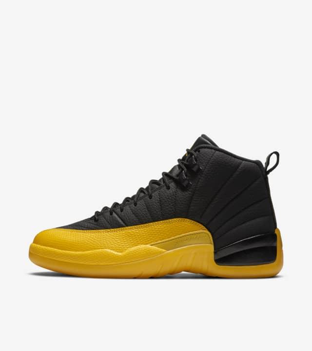 Where to Buy Air Jordan 12 Black/University Gold | Nice Kicks