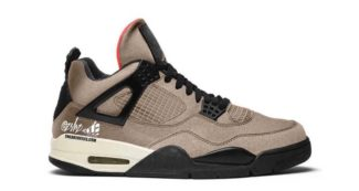 "Upcoming Air Jordan 4 ""Taupe Haze"" Features a Tear-Away Upper"