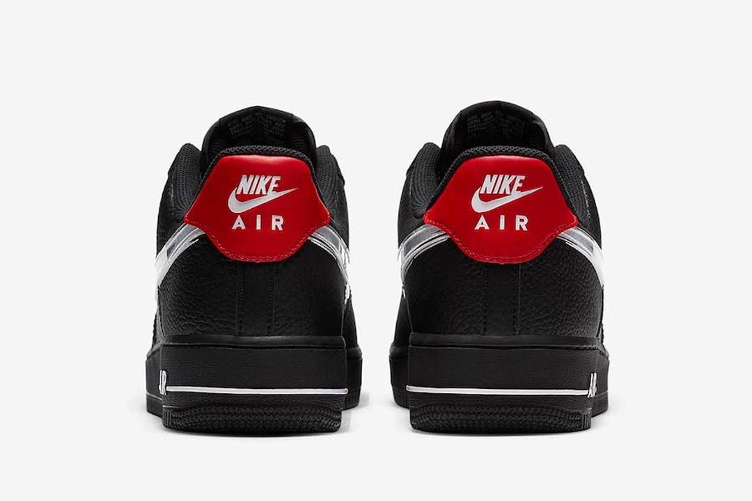 "Nike Air Force 1 Low ""Brushstroke Swoosh"" DA4657-001 DA4657-100 ..."
