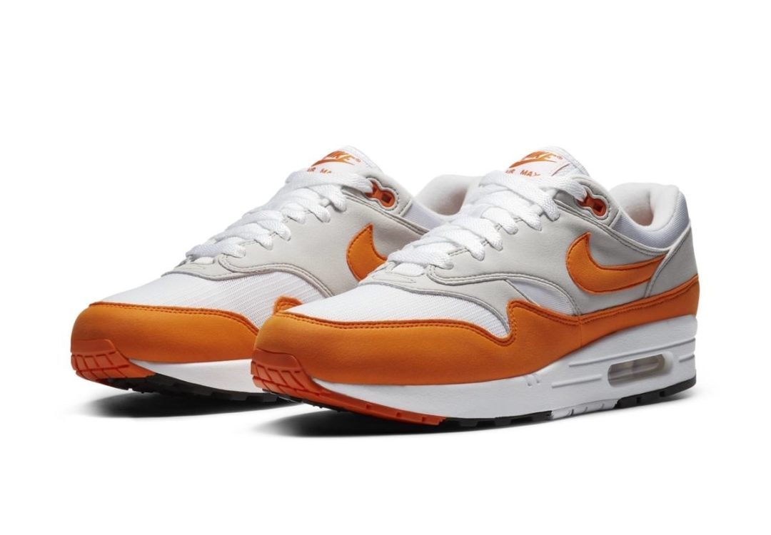 Nike Air Max 1 Anniversary Orange Release Date Nice Kicks
